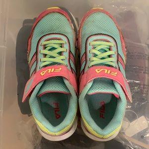 Girls Fila sneakers size 2